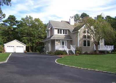 Manorville Single Family Home For Sale: 199 Halsey Manor Rd