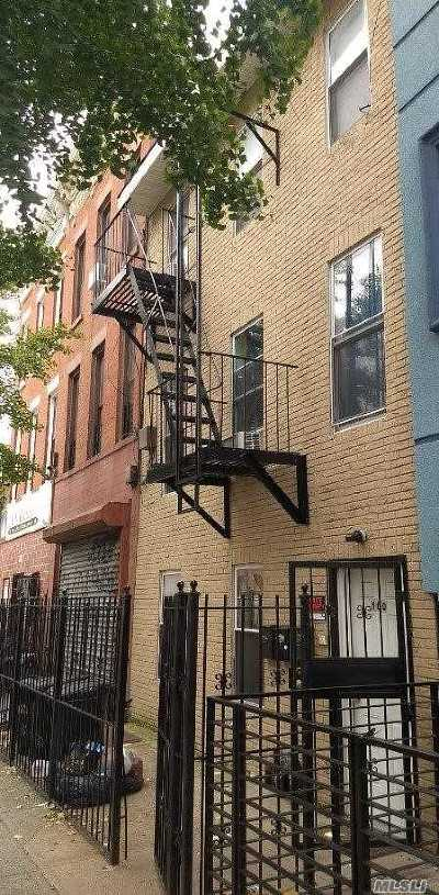 Brooklyn Multi Family Home For Sale: 160 Tompkins Ave