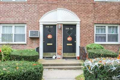 Queens County Co-op For Sale: 226-02 Kingsbury Ave #Lower
