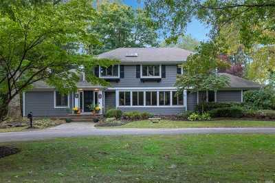 Lloyd Harbor Single Family Home For Sale: 16 School Ln