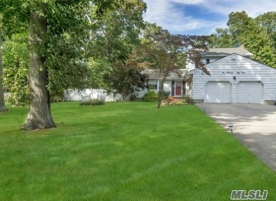 Hauppauge NY Single Family Home For Sale: $519,000
