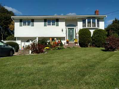 Central Islip  Single Family Home For Sale: 15 Juniper St