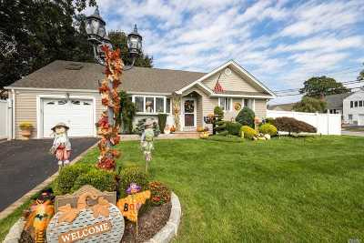 Massapequa Park Single Family Home For Sale: 5 Merle Ln