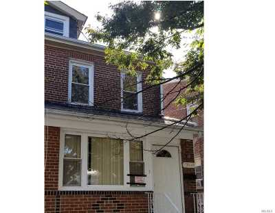 Flushing Single Family Home For Sale: 199-40 34th Ave