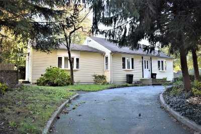 Selden Single Family Home For Sale: 52 Clearview Ave