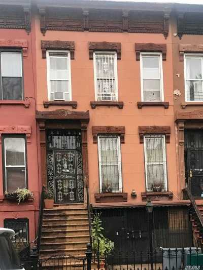 Brooklyn Multi Family Home For Sale: 545 Halsey St