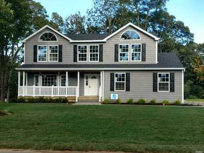 Smithtown Single Family Home For Sale: Lot #1 Florence Ave