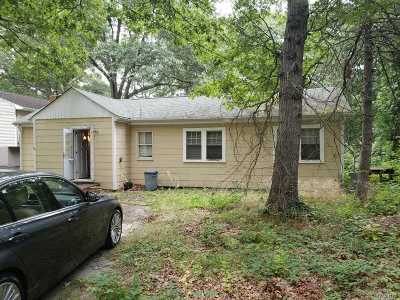 Centereach Single Family Home For Sale: 171 Wood Rd