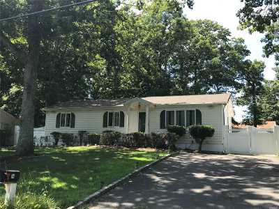 Middle Island Single Family Home For Sale: 54 W Bartlett Rd