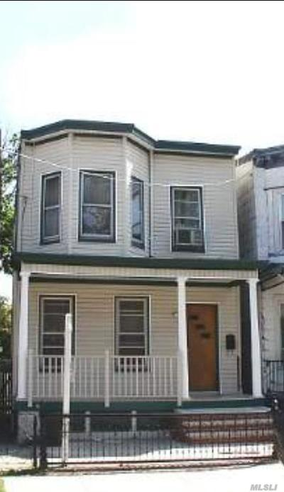 Woodhaven Single Family Home For Sale: 74-24 87th Rd