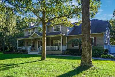 Manorville Single Family Home For Sale: 5 Davidson Dr