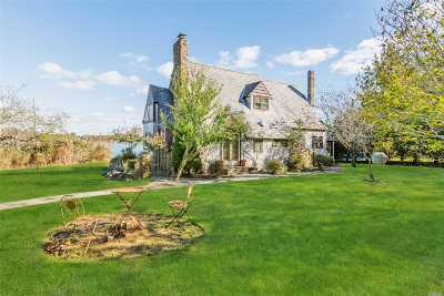 East Moriches Single Family Home For Sale: 123 Paquatuck Ave