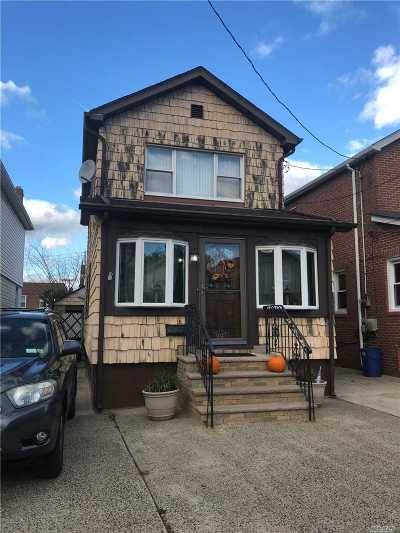 Ozone Park Single Family Home For Sale: 91-41 Chicot Rd