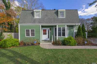 Center Moriches Single Family Home For Sale: 91 Brookfield Ave