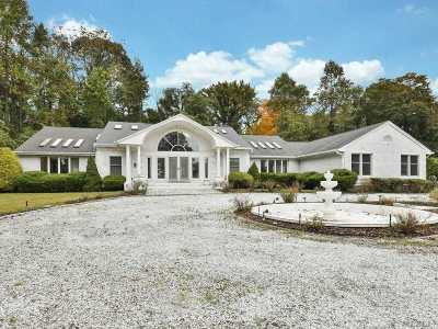 Nissequogue Single Family Home For Sale: 3 Whisper Hl