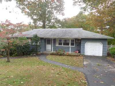 Selden Single Family Home For Sale: 8 Laurelton Ave