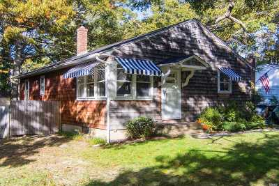 Southampton NY Single Family Home For Sale: $609,000