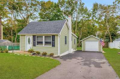 Ronkonkoma Single Family Home For Sale: 172 Sioux St