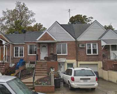 Flushing Single Family Home For Sale: 142-12 56 Rd