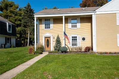 Coram Condo/Townhouse For Sale: 54 Federal Ln