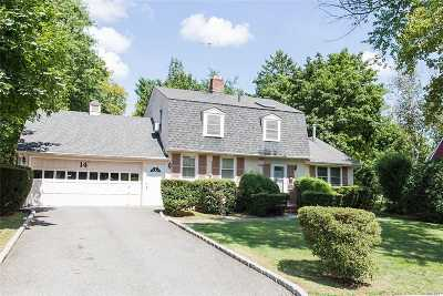 Roslyn Single Family Home For Sale: 14 Pinetree Ln