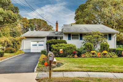 Centereach Single Family Home For Sale: 114 Lion Ct