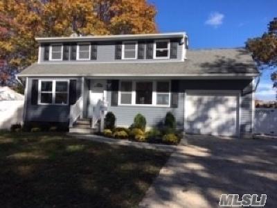 Centereach Single Family Home For Sale: 27 Clarkson Rd
