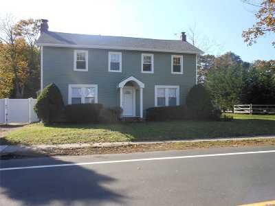 East Moriches Single Family Home For Sale: 18 Pine St