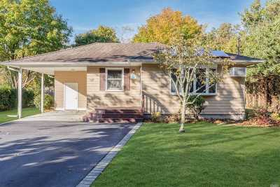 East Moriches Single Family Home For Sale: 132 Pine St