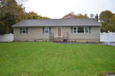 Selden Single Family Home For Sale: 66 Hemlock St
