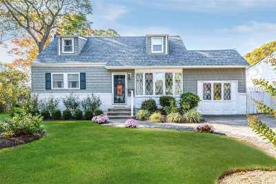 N. Babylon Single Family Home For Sale: 202 Whittier Ave