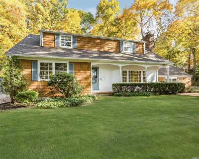 Cold Spring Hrbr Single Family Home For Sale: 85 Woodchuck Hollow Rd