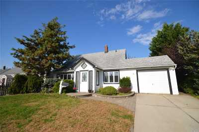 Levittown Single Family Home For Sale: 51 Sycamore Ln