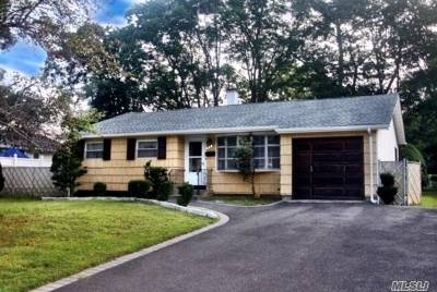 Sayville Single Family Home For Sale: 245 Lowell Rd