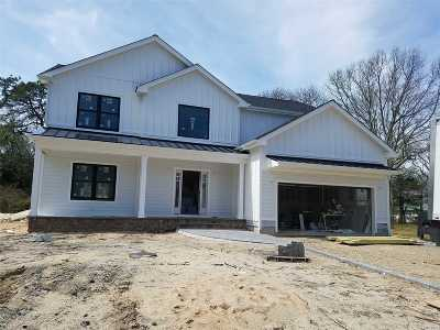 Patchogue Single Family Home For Sale: 24 S Pine Lake Dr