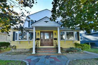 Cedarhurst Multi Family Home For Sale: 449-451 Court Ave