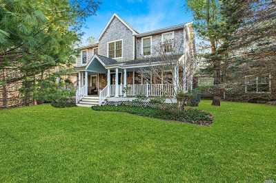 East Hampton Single Family Home For Sale: 24 Marion Ln