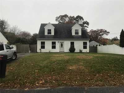 Mastic Beach NY Single Family Home For Sale: $155,500