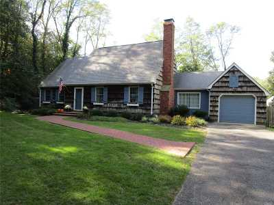 Wading River Single Family Home For Sale: 77 Zophar Mills Rd