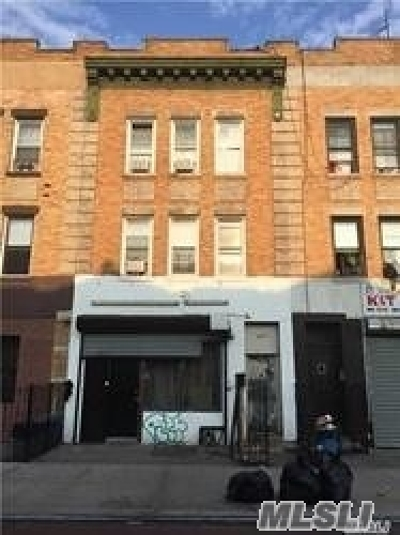 Brooklyn Multi Family Home For Sale: 657 Rogers Ave