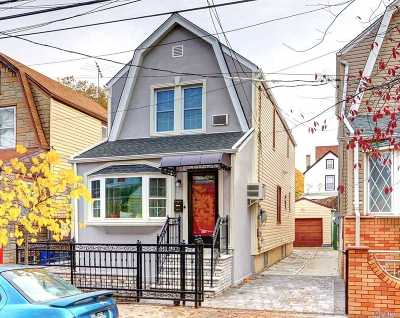 Ozone Park Single Family Home For Sale: 105-33 87th St