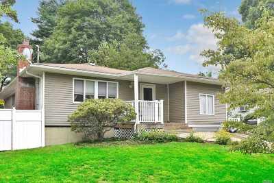 Selden Single Family Home For Sale: 70 S Evergreen Dr