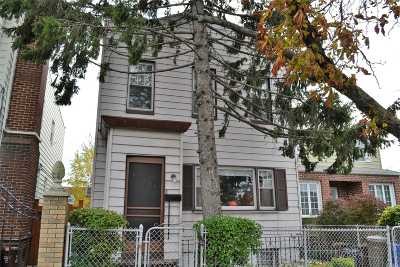Maspeth Single Family Home For Sale: 66-04 Hull Ave