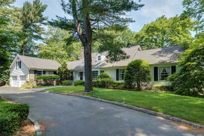 Cold Spring Hrbr Single Family Home For Sale: 9 Saw Mill Ln