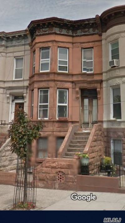 Brooklyn Multi Family Home For Sale: 1109 Park Pl