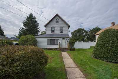 Central Islip  Single Family Home For Sale: 25 Hazel St
