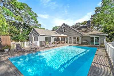 Westhampton Bch Single Family Home For Sale: 41 Bridle Path