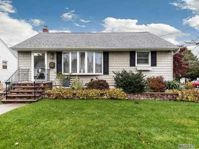 Hicksville Single Family Home For Sale: 80 Kuhl Ave