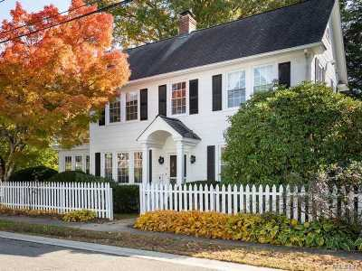 Locust Valley Single Family Home For Sale: 6 Nursery St