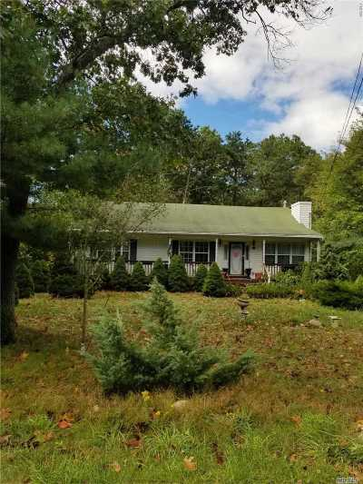 Middle Island Single Family Home For Sale: 26 Wilson Ave